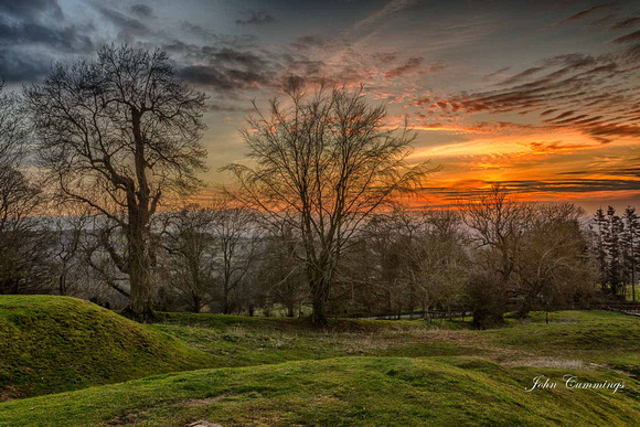 Sunset, Dovers Hill