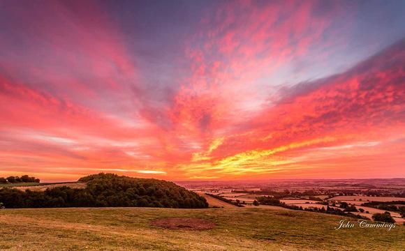Sunrise, Foxcote Hill, Ilmington