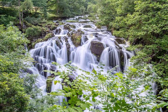 Swallow Falls, Betws-y-Coed, Snowdonia