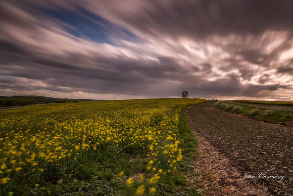 Rape Field, Chesterton Windmill