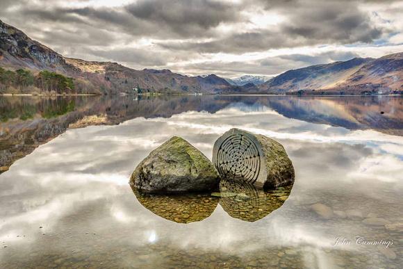 Centenary Stones, Derwent Water