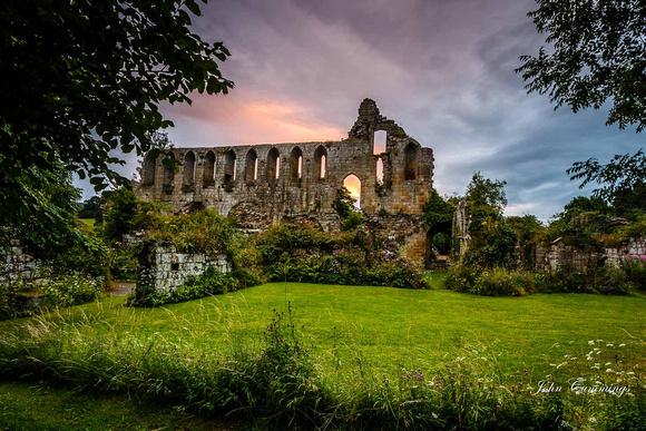 Jervauxl Abbey, Wensleydale