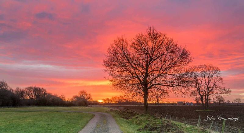 Sunrise, Long Marston