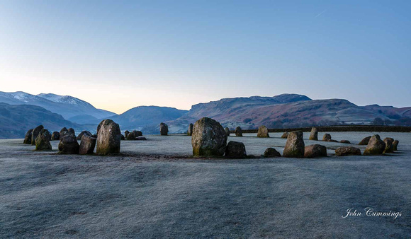 Sunrise, Castlerigg Stone Circle