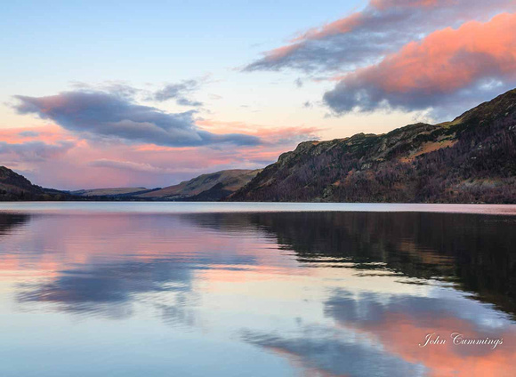 Sunset, Ullswater