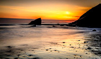 Sunset, Broad Haven North