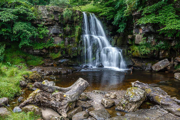 Upper East Gill Force, Swaledale